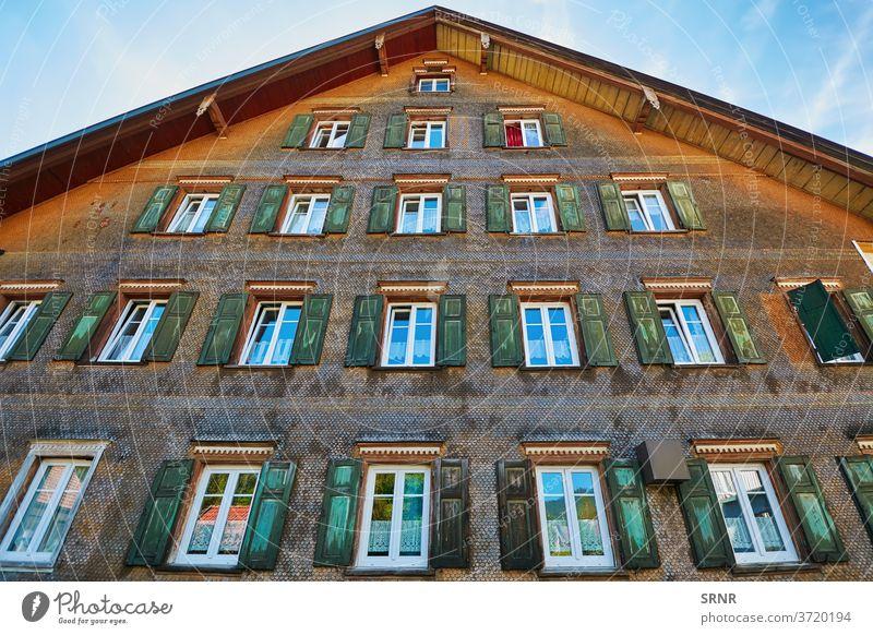 Haus in Bolsternang Europa Deutschland Isny Algau Fenster Fensterläden Wohnort Unterkunft Appartement Appartements Gebäude Wohnung Wohnungen Wohnen heimwärts