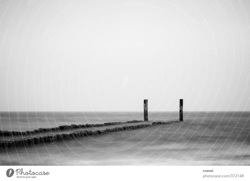 Een krib Himmel Natur Ferien & Urlaub & Reisen Wasser weiß Sommer Meer schwarz Umwelt Herbst Frühling Küste Holz Horizont Wetter Wellen