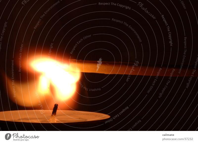 .:experimente mit feuer:. #2 Kerze Teelicht Streichholz Häusliches Leben Brand
