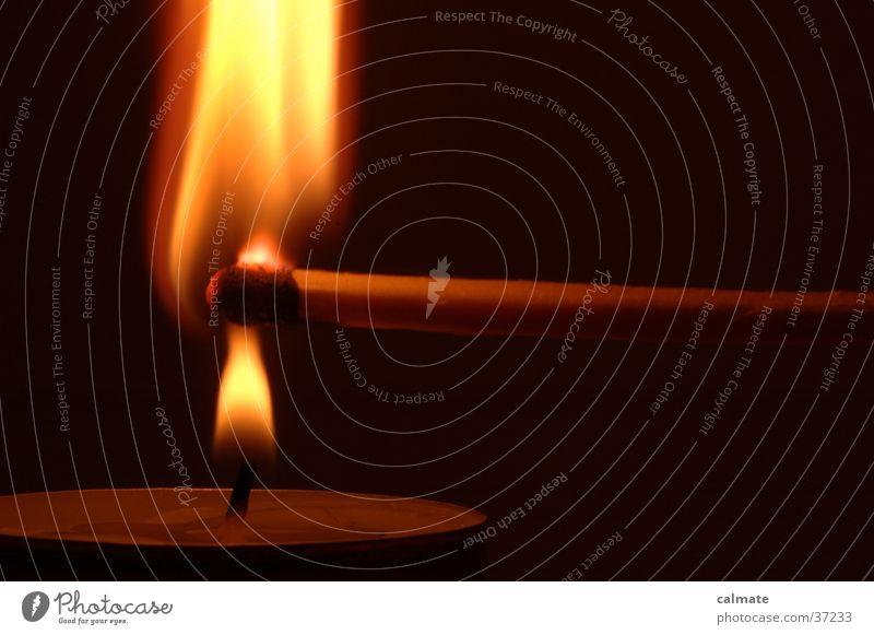 .:experimente mit feuer:. #1 Brand Kerze Häusliches Leben Streichholz Teelicht