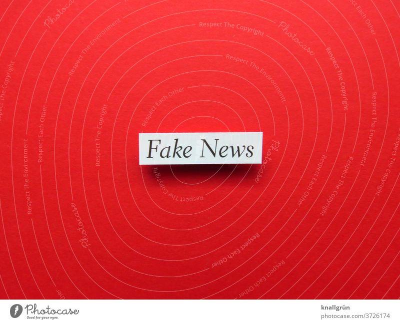 Fake News fake news Nachrichten Medien Information falsch Journalismus Printmedien Politik & Staat Zeitung Medienbranche Meinungsmache beeinflussen Manipulation