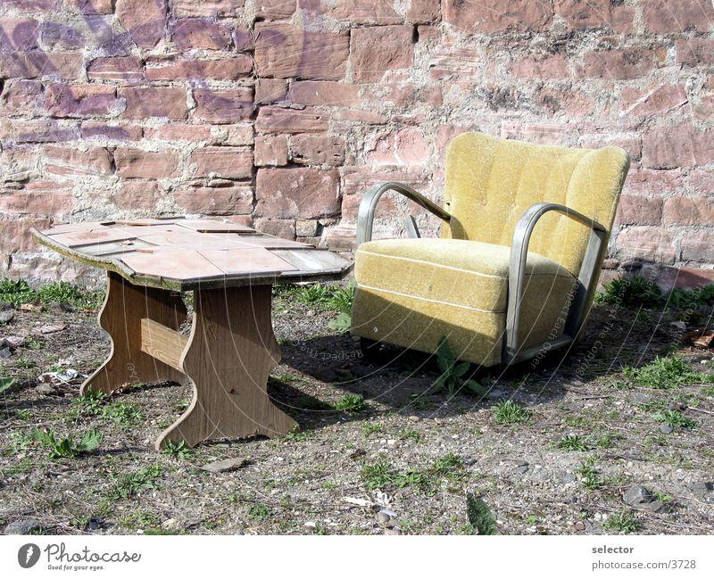 wohnzimmer Sessel Tisch Fototechnik Sonne