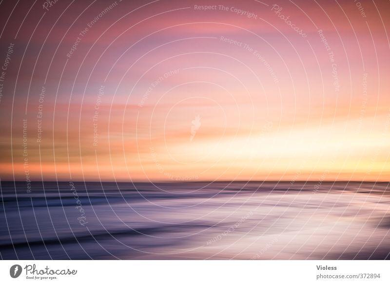 ...lovely place Ferien & Urlaub & Reisen Sommer Sonne Meer Erholung Landschaft Strand Ferne Horizont Wellen Schönes Wetter Romantik Kitsch Sommerurlaub Algarve