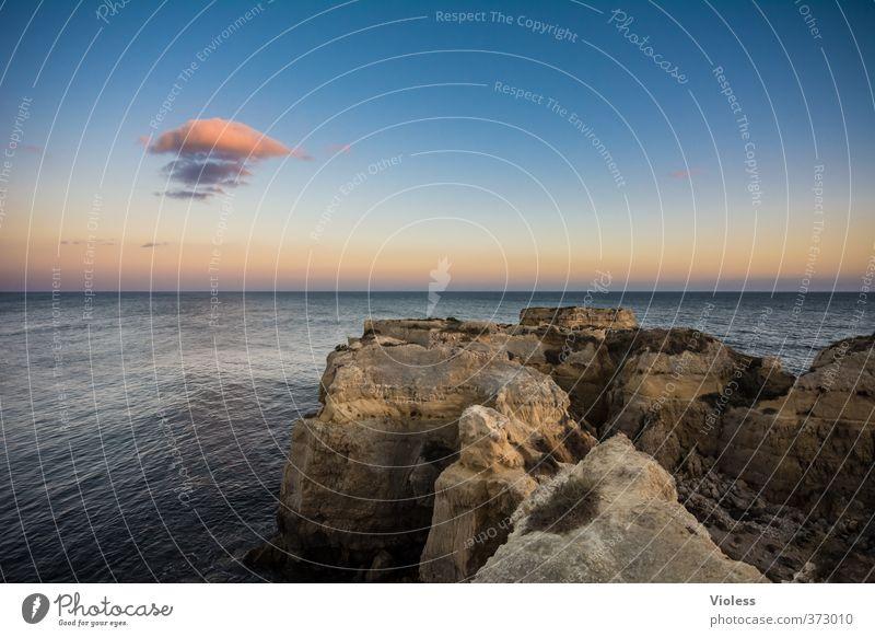 die leichtigkeit des steins Erholung ruhig Ferien & Urlaub & Reisen Ferne Sightseeing Sommer Sommerurlaub Natur Landschaft Horizont Schönes Wetter Felsen Küste