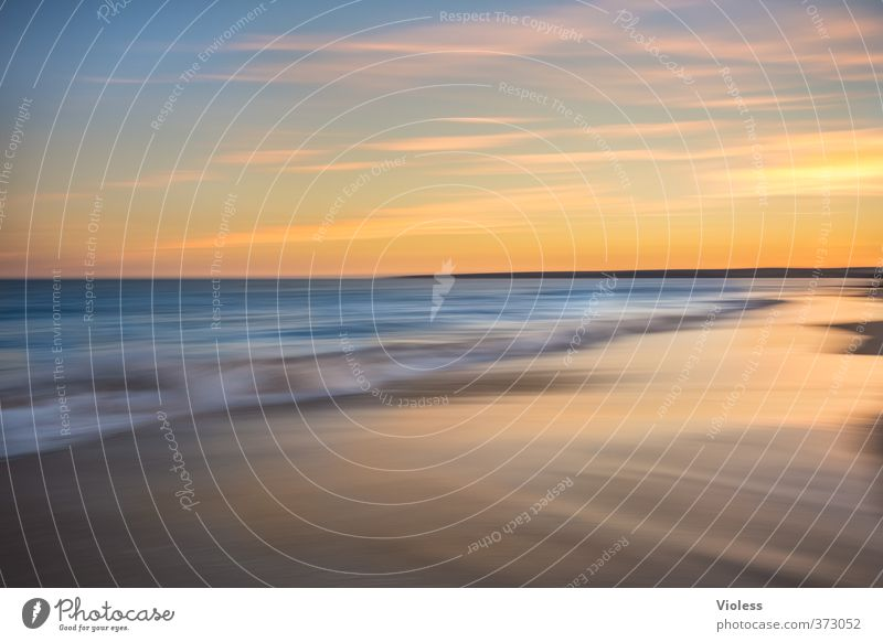....beachzoom Ferien & Urlaub & Reisen Sommer Sonne Meer Erholung Strand Schnee Küste Freiheit Wellen Tourismus Schönes Wetter Urelemente Romantik Kitsch Bucht