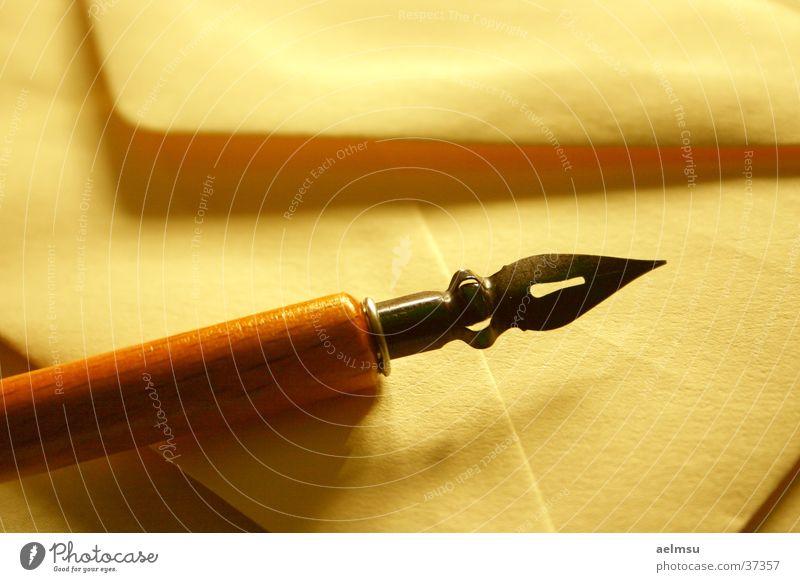 My Pen Pal I alt Romantik schreiben Papier Brief Post Bildausschnitt Briefumschlag altmodisch Schreibfeder Kalligraphie Schreibpapier Objektfotografie