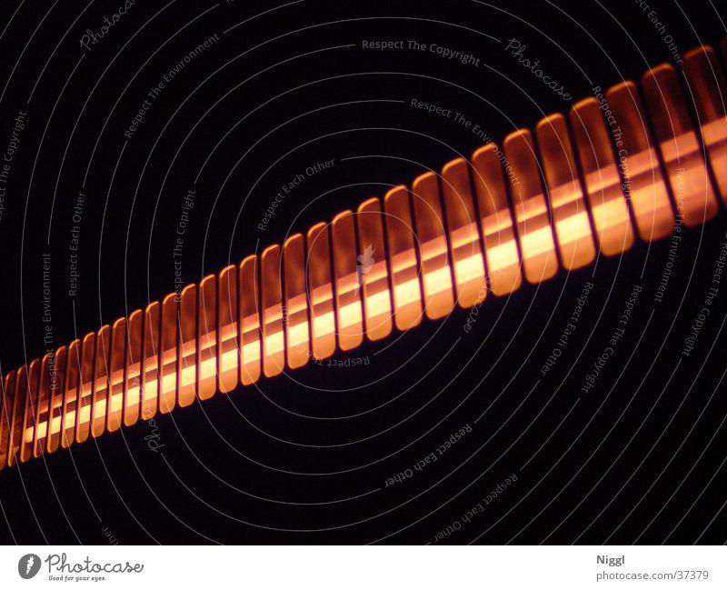 Wärmequelle Lampe dunkel Wärme orange Technik & Technologie Physik Elektrisches Gerät