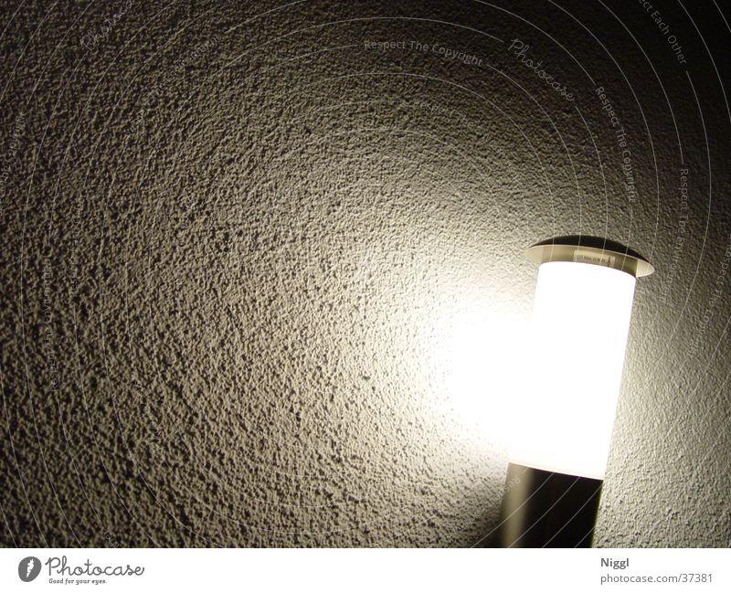 Nachtlicht Lampe dunkel Wand hell Fototechnik Wandleuchte