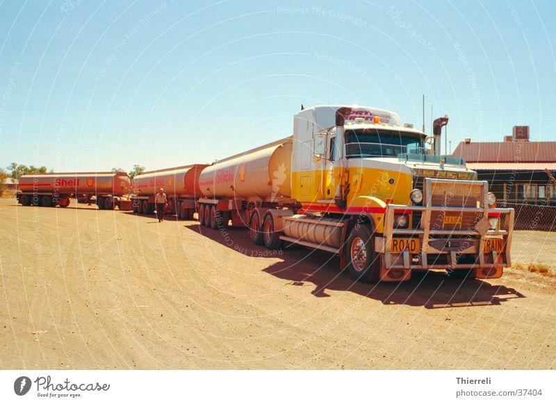 Road Train Lastwagen Benzin Verkehr Güterverkehr & Logistik Shell