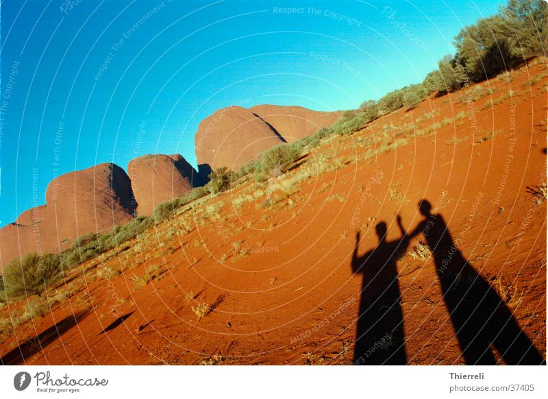 Fun by the Olgas Wärme Sand Graffiti Abenteuer Physik Australien Northern Territory