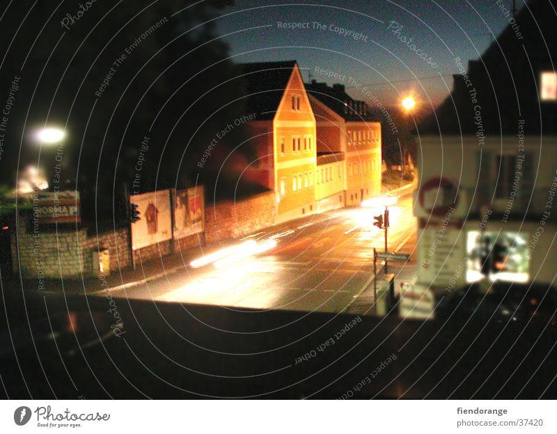 nightvison Nacht Licht Sonnenuntergang Architektur Straße
