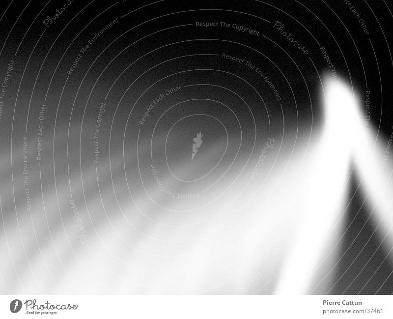 Lichtspiel 3 weiß schwarz diffus Langzeitbelichtung Beleuchtung Unschärfe
