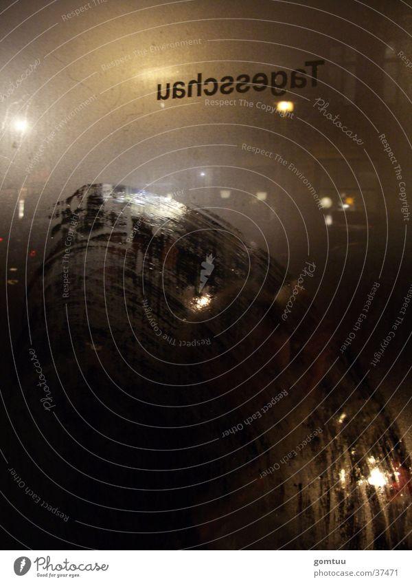 es kommt wie es muss! Fenster Ernährung Gastronomie Restaurant Fensterscheibe Glasscheibe Kneipe gelehrt