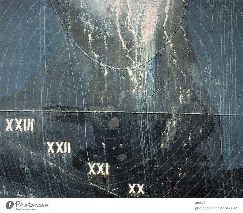 Untergang Schiffsrumpf Strukturen & Formen abstrakt Detailaufnahme Außenaufnahme Farbfoto Nahaufnahme Schiffsbug schwarz Schifffahrt Metall geheimnisvoll