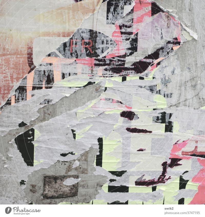 Zerrüttet Strukturen & Formen Muster abstrakt Makroaufnahme Detailaufnahme Außenaufnahme Farbfoto Menschenleer Kontrast Bilderrätsel unklar Zahn der Zeit