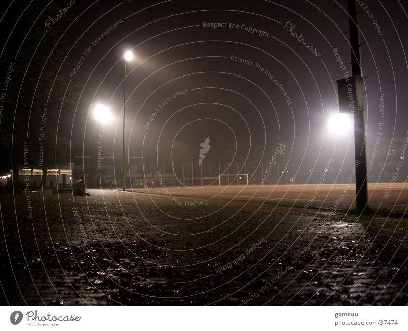 Training Stadion Flutlicht Nacht Sportplatz Fußball Bolzplatz Verein