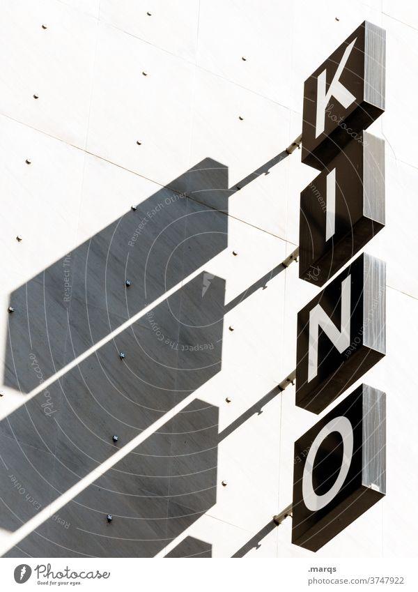 KINO Kino Filmindustrie Freizeit & Hobby Kinofilm Schriftzeichen Buchstaben Kultur Schatten