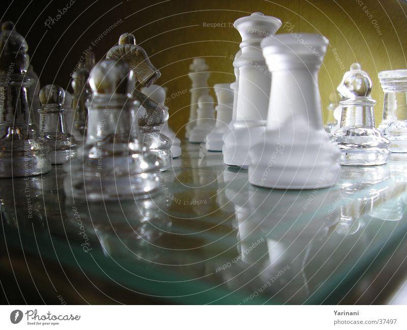Lichtspiel dunkel hell Glas Freizeit & Hobby Schachbrett