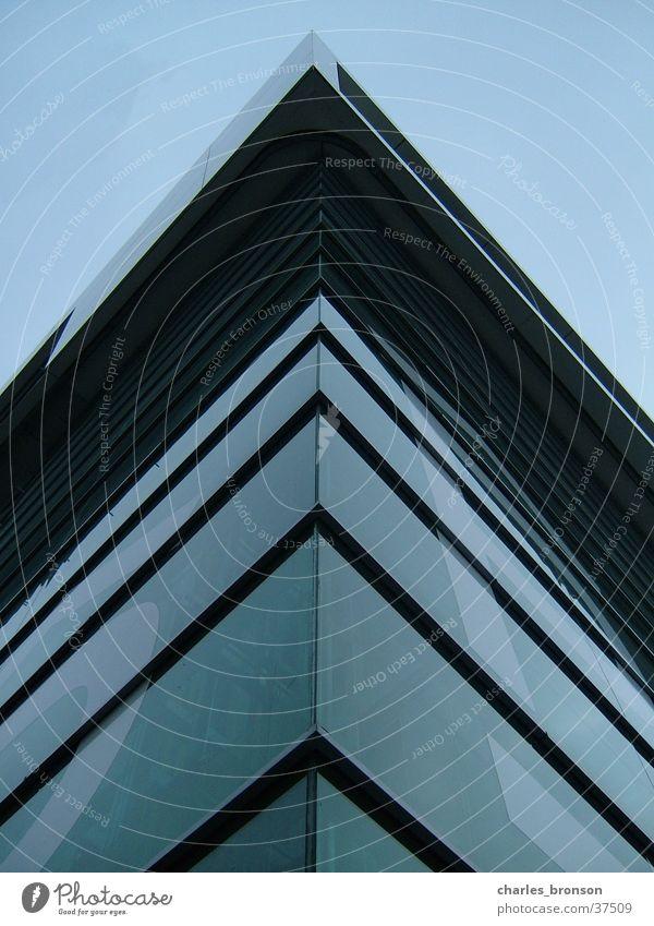 around the corner Haus Stahl Architektur modern Ecke Glas