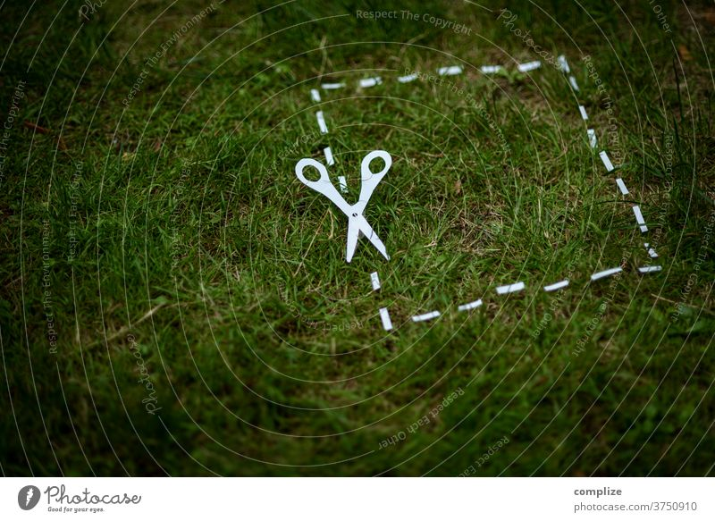 Naturschutzgebiet schneiden Schnitt schützen naturfreund Klimaschutz Liebe Umwelt Umweltschutz Klimawandel ausschneiden Naturliebe Schere Gartenpflanzen