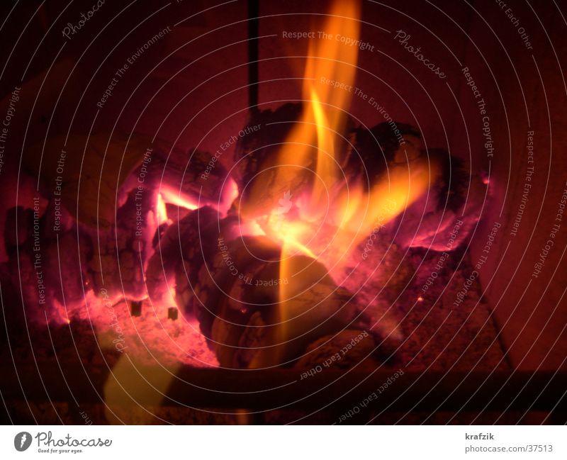 Glut und Feuer Wärme Freizeit & Hobby Brand heizen Glut