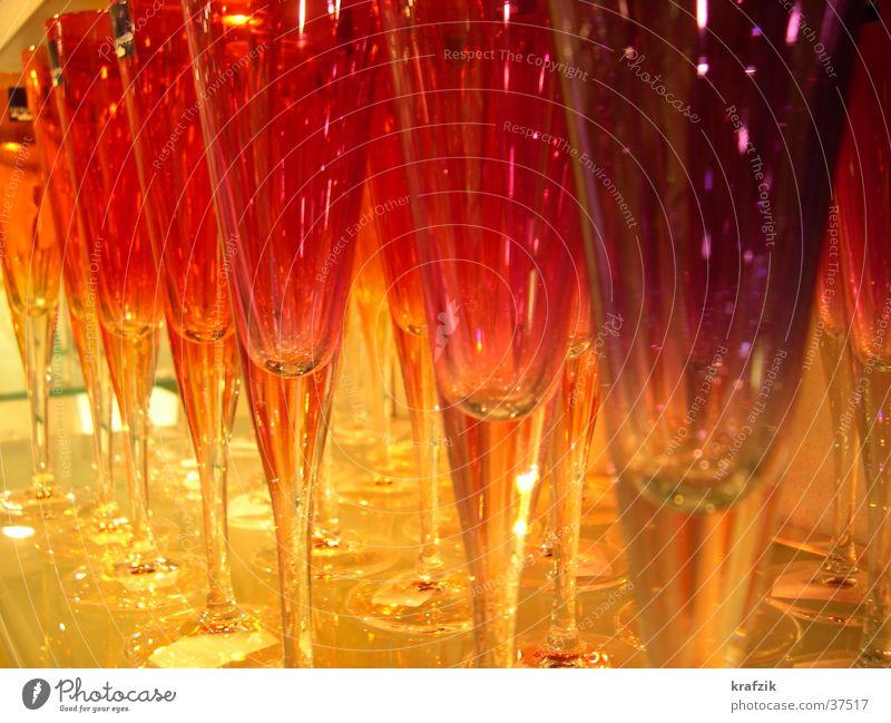 rote Gläser Feste & Feiern Häusliches Leben Glas genießen