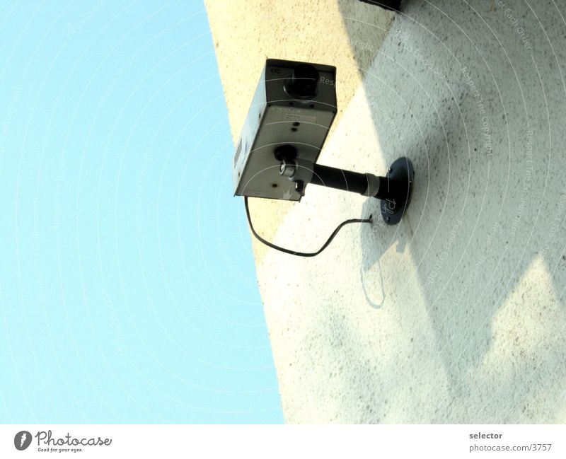 einauge Überwachung Dinge Fotokamera Objektiv