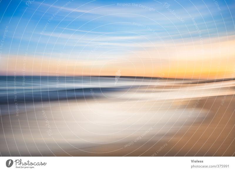 ...nice place Himmel Natur Ferien & Urlaub & Reisen Sommer Sonne Meer Erholung Landschaft Freude Wolken Strand Ferne Küste träumen Wellen Schönes Wetter
