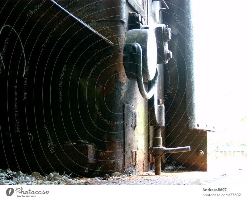 Dampflokdetail Lokomotive Dampflokomotive Gegenlicht Elektrisches Gerät Technik & Technologie Eisenbahn Industriefotografie Detailaufnahme