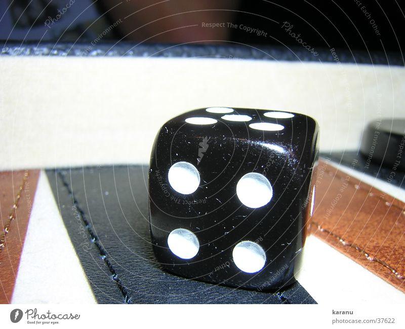 Der Würfel ist gefallen 4 Backgammon Spielen Freizeit & Hobby Makroaufnahme wüfelspiel