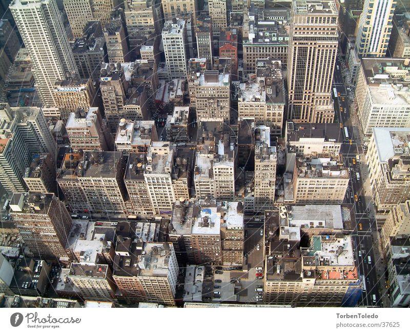 NYC vom EmpireState New York City Empire State Building Architektur Metroplis Stadt