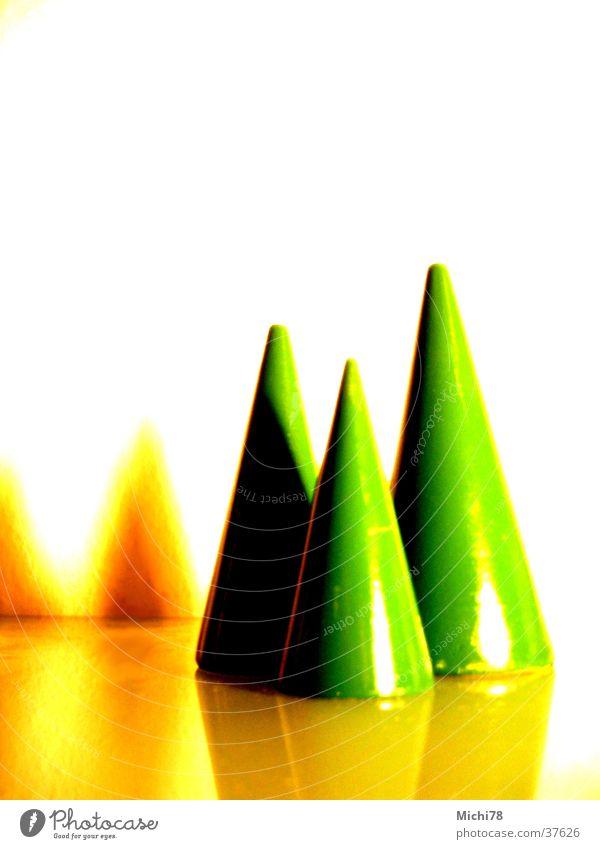 Weihnachtsbäume Weihnachten & Advent Baum grün Schnee Fototechnik farbverfremdet