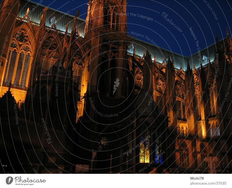 Kathedrale von Metz Beleuchtung Architektur Macht