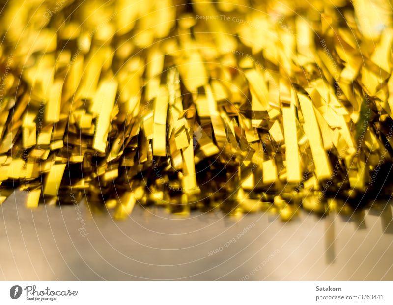 Die goldene Farbe des Tasseler Sportjubels Quaste Cheerleader anfeuern Hintergrund Pompons Spaß Objekt heiter Team Schuss Konkurrenz Fitness Teamwork abstützen