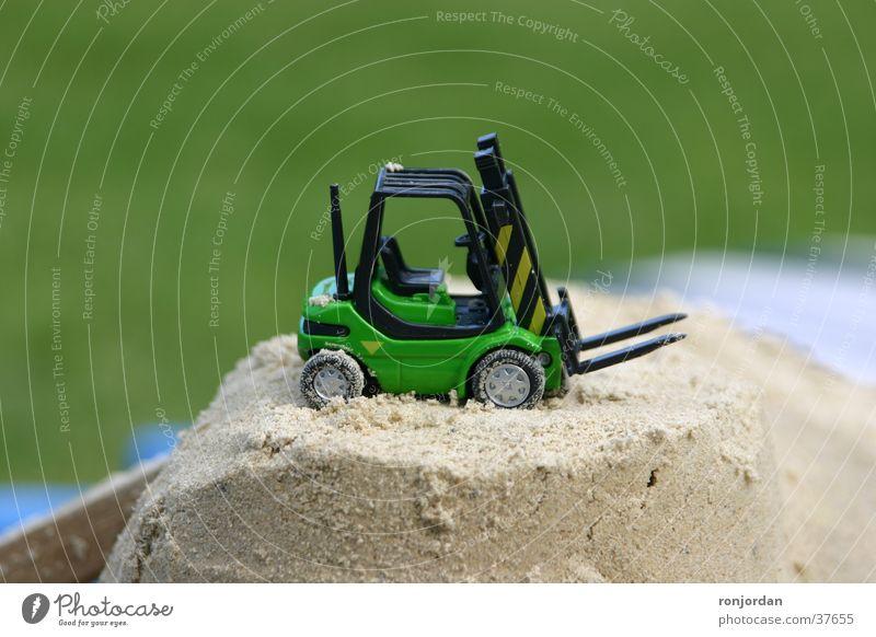 Gabelstapler Spielzeug Elektrisches Gerät Technik & Technologie Sand