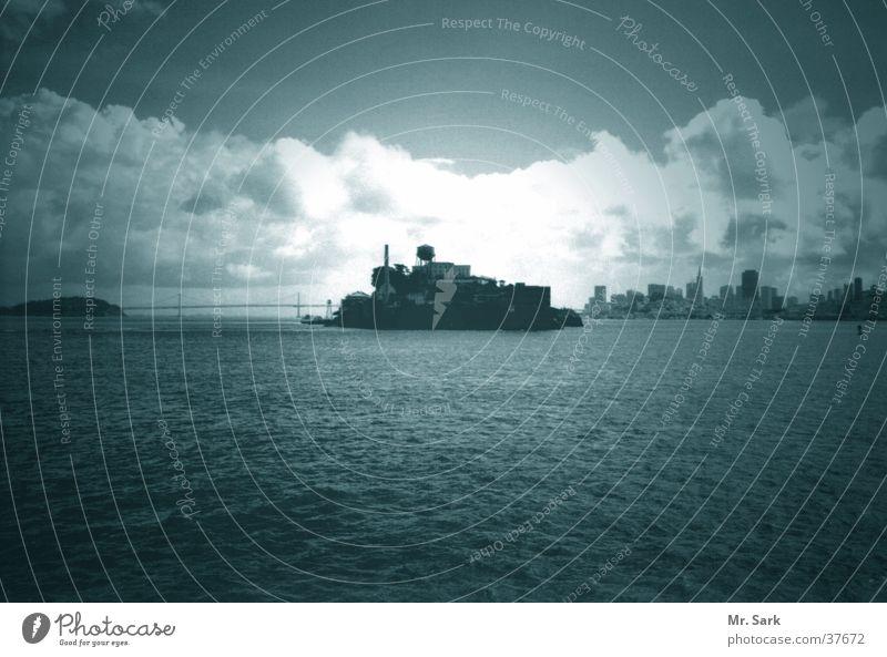 alcatraz San Francisco Alcatraz Festung Tourist Sehenswürdigkeit Nordamerika Justizvollzugsanstalt The Rock Bucht