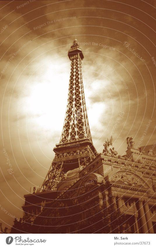 paris.vegas Las Vegas Tour d'Eiffel nachgebaut Wahrzeichen Nordamerika hotel paris Spielkasino Turm