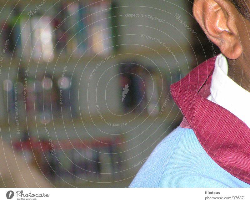 Vermeidung (Avoidance) Mann Ohr Seite verringern