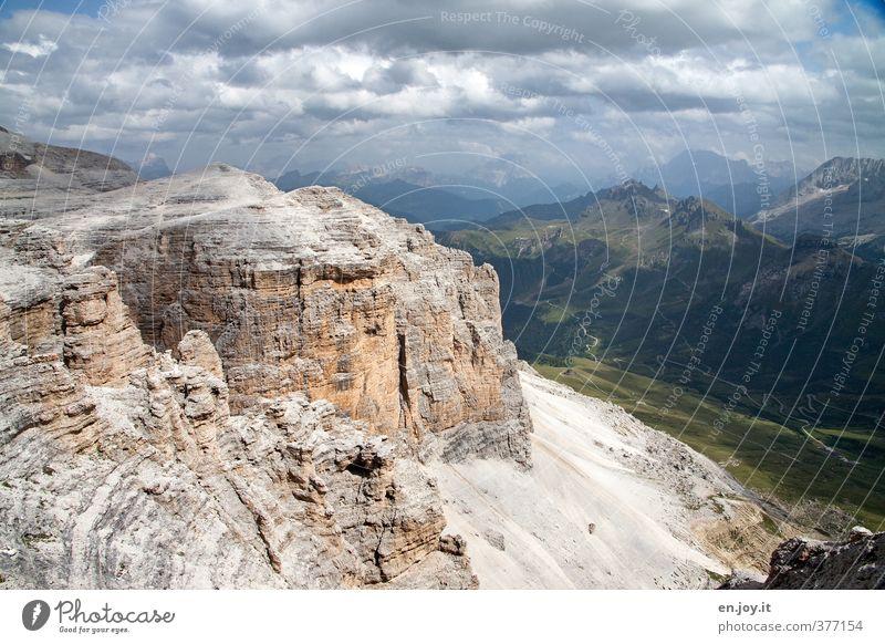 Der Zahn der Zeit Ferien & Urlaub & Reisen Tourismus Ausflug Abenteuer Berge u. Gebirge wandern Umwelt Natur Landschaft Wolken Gewitterwolken Klima Wetter Alpen