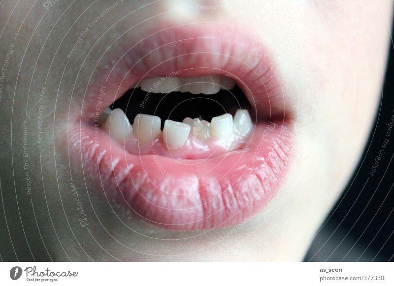 Zahnspange? Kind Mund Lippen Zähne 1 Mensch 3-8 Jahre Kindheit authentisch eckig neu Spitze weiß Gesundheit Gesundheitswesen Körperpflege Präzision Wachstum