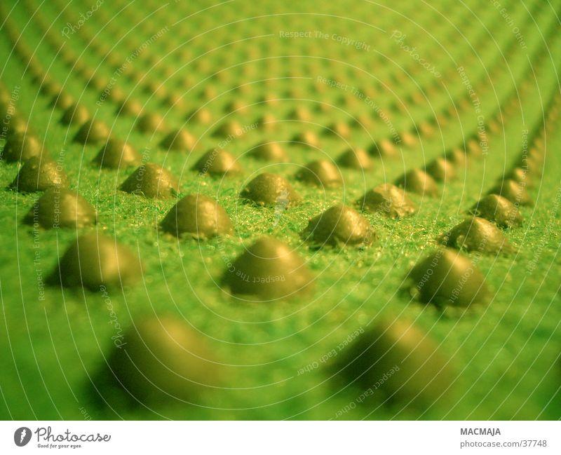 Noppenlandschaft_1 grün Häusliches Leben Hügel