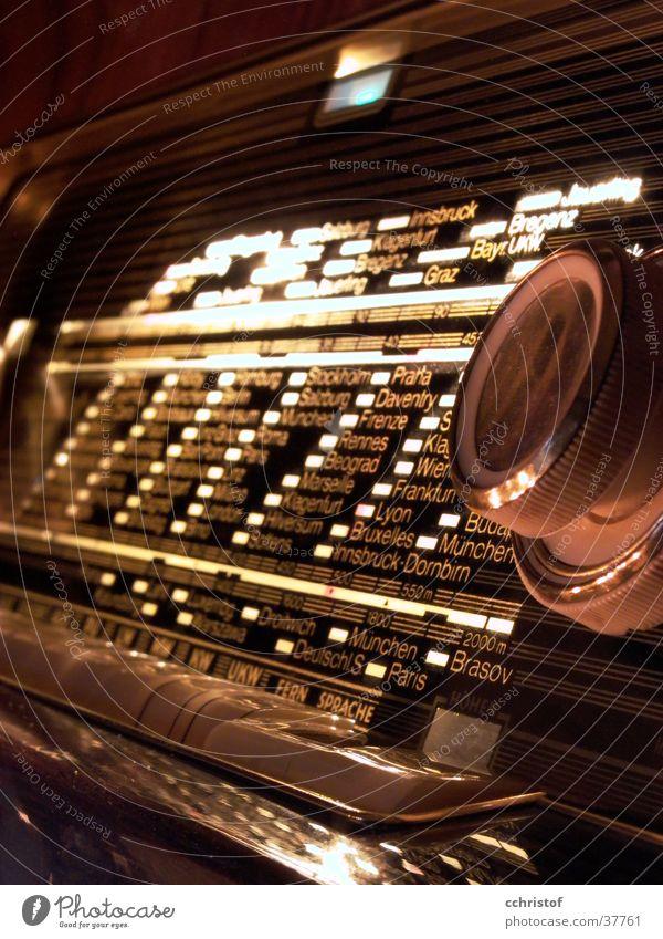 Radio alt Musik Häusliches Leben Nostalgie Sechziger Jahre