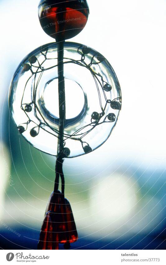 dekorativ Glas Dekoration & Verzierung durchsichtig Haken Zierde
