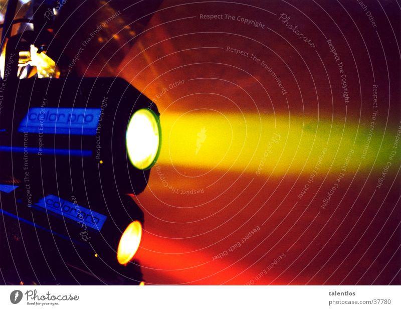 spotlight Bühnenbeleuchtung Licht Lampe Elektrisches Gerät Technik & Technologie Scheinwerfer Farbe beam