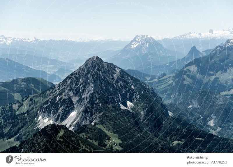 #1000 - und der nächste Gipfel wartet schon Berg hoch Alpen Gebirge Aussicht Panorama Österreich Berge u. Gebirge Panorama (Aussicht) Natur Landschaft