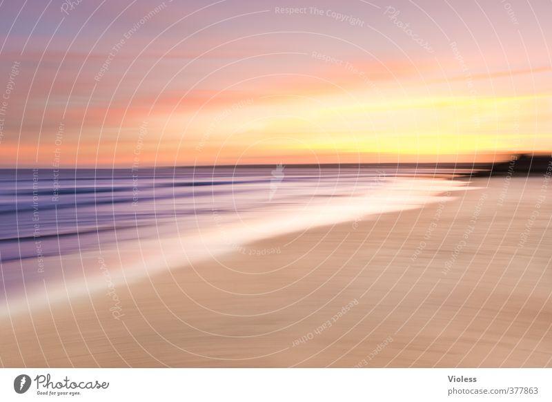 *300* verschwommene :-) Ferien & Urlaub & Reisen schön Sommer Sonne Meer Erholung Landschaft Freude Strand Ferne Küste Sand Wellen Tourismus Schönes Wetter