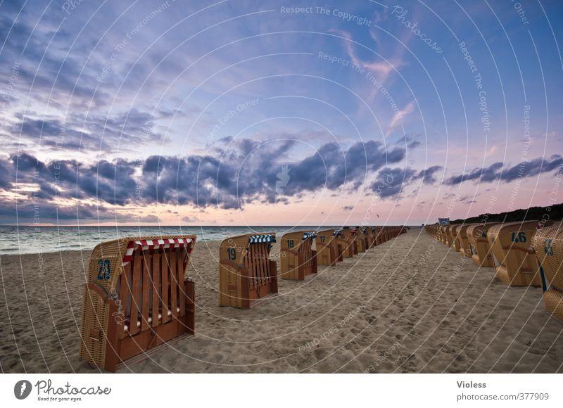 standby.... Ferien & Urlaub & Reisen Sommer Strand Meer Wellen Sand Himmel Wolken Sonne Sonnenaufgang Sonnenuntergang Sonnenlicht Küste Ostsee Erholung Romantik