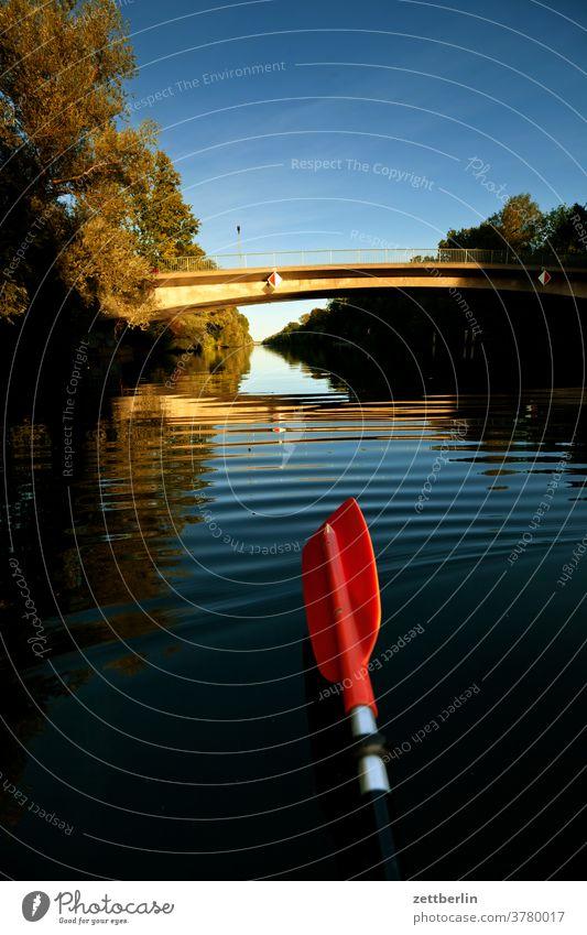 Mäckeritzbrücke, Berlin ausflug boot erholung ferien fluß kanal landschaft natur paddel paddelboot ruderboot schiff schifffahrt see sommer sport teich ufer