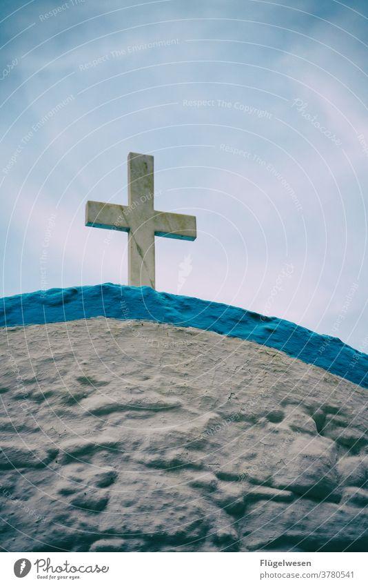 Save our souls! Kirche Griechenland Kos Kreuzfahrt Jesus Christus Gott glauben Glaube Glaube & Religion church Nachfolger Christentum ortodox Himmel Ewigkeit