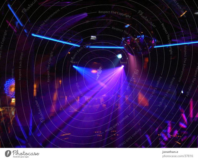Clubstimmung blau Party Beleuchtung Disco Show Reaktionen u. Effekte Lightshow Scanner
